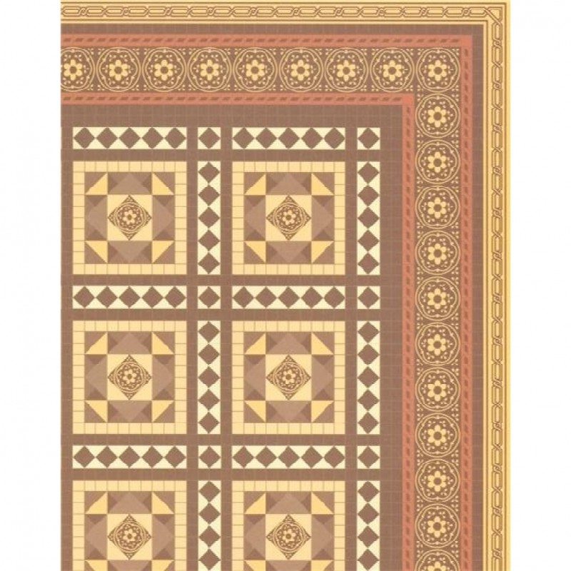 Victorian Floor Tiles Sheet