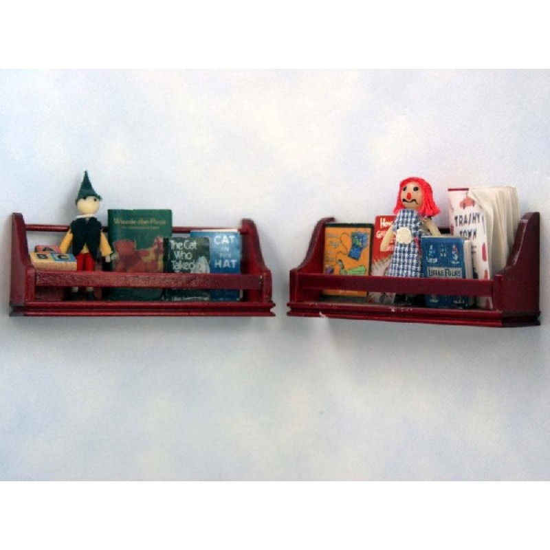 Set of 2 Toy Shelves