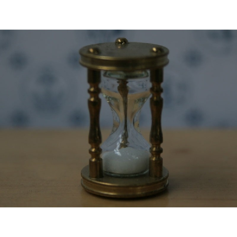 The Wonham Collection- Brass Hourglass - KA298