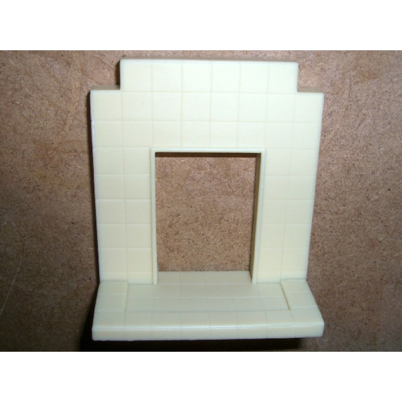 Tiled Hearth (bedroom style) Resin