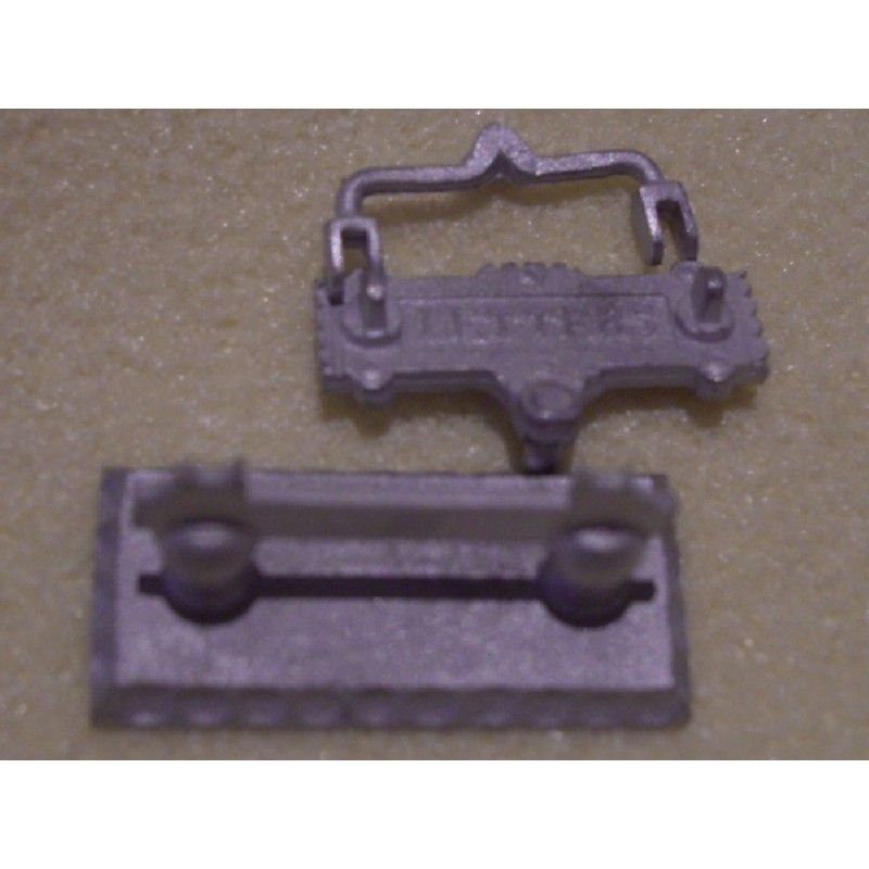 Letter Plate and Boot Scraper