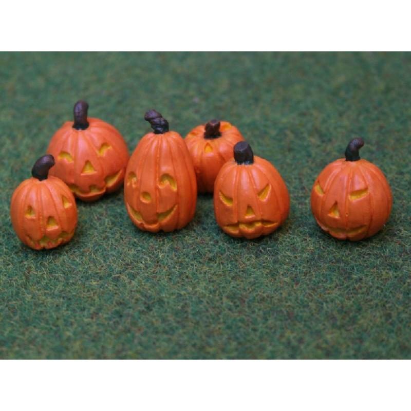 Halloween Pumpkins set of 6