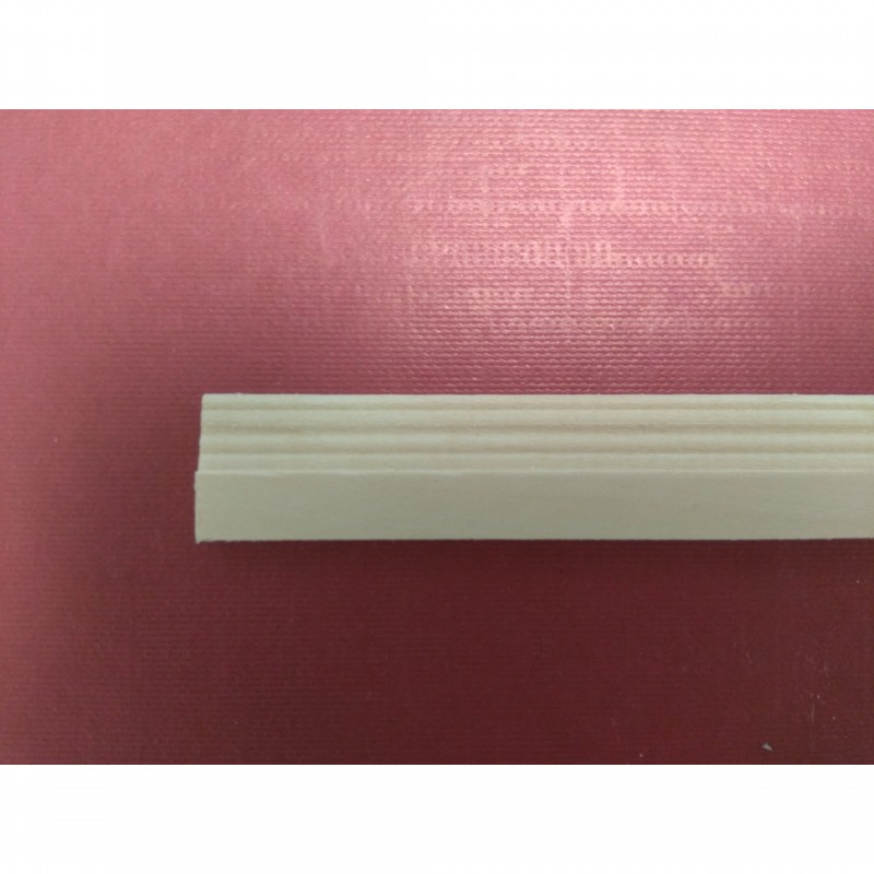 Unvarnished Lightwood Skirting Board, mitred, 6 pieces 16 x 456 x 4mm