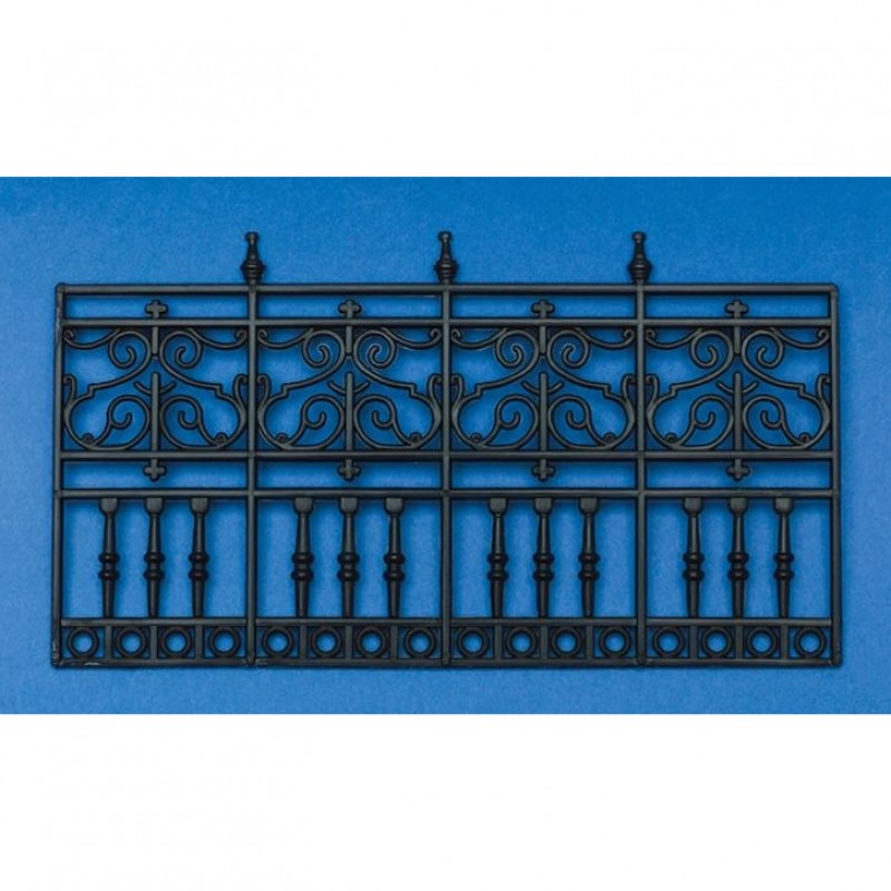 4-Panel Railing, Plastic 90 x 160mm