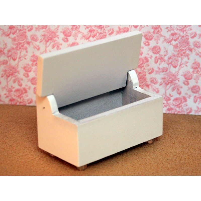 White Painted Toybox