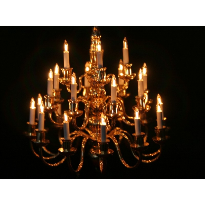 Stunning 24 Arm Chandelier