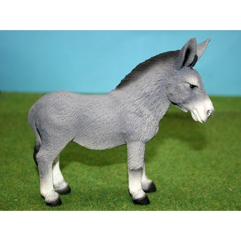 Standing Grey Donkey