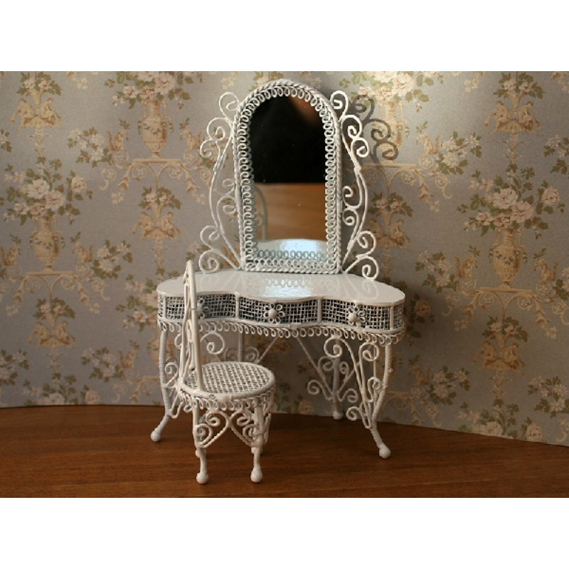 Dressing Table Set in White