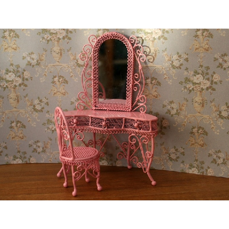 Dressing Table Set in Pink