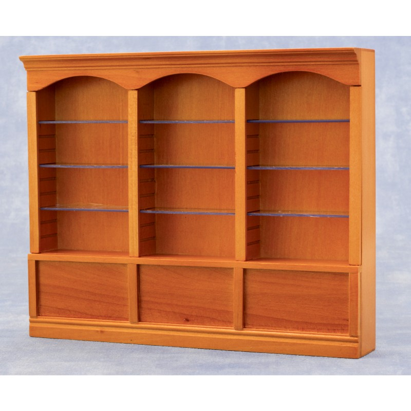 Deluxe Triple Shelves Pine