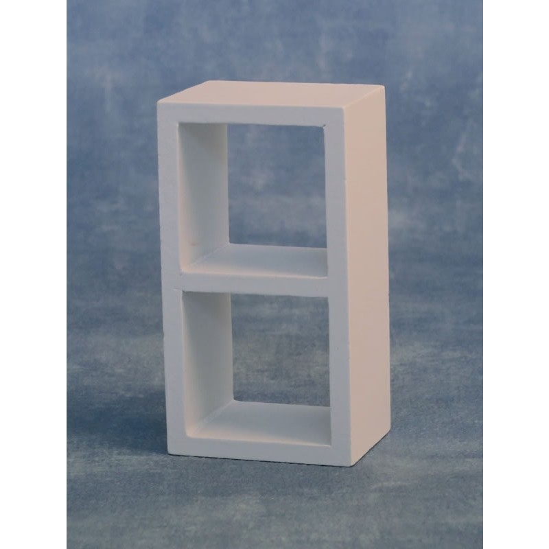 White Storage Unit 1x2