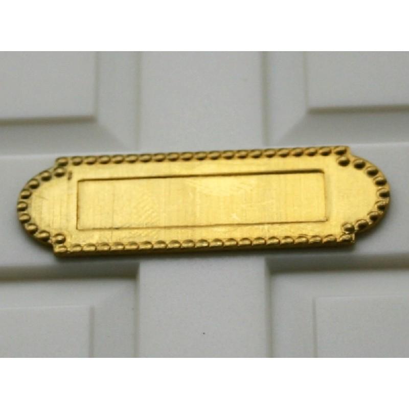 Brass Letterbox