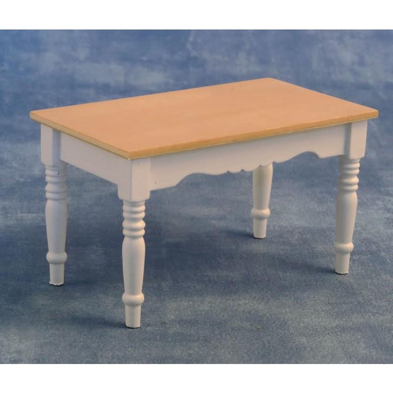 Kitchen Table White/Pine