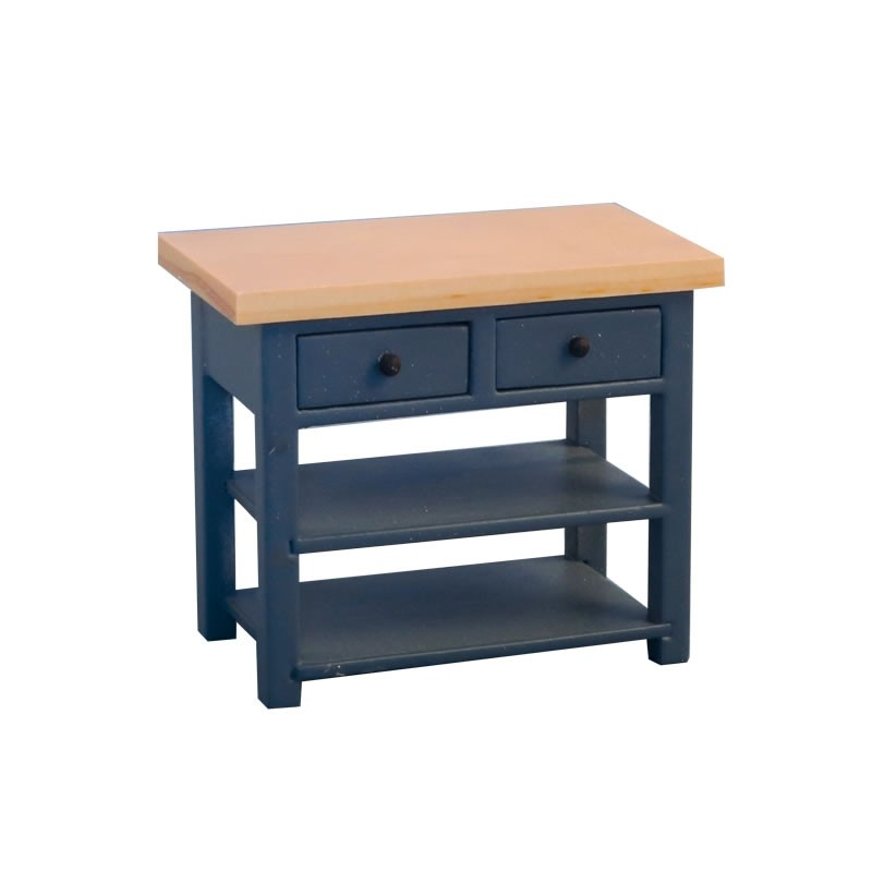 Shaker Style Sideboard Blue/Pine