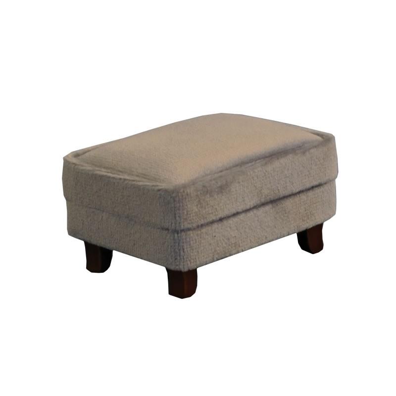 Grey Modern Footstool