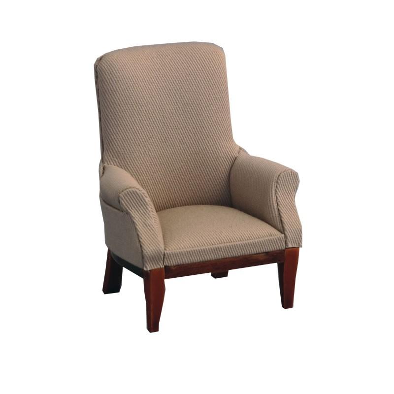 Grey Fireside Chair