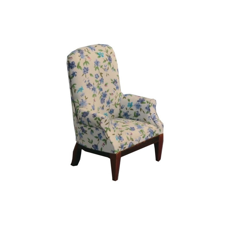 Floral Fireside Chair