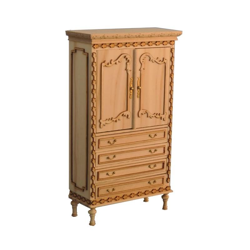 Bare Essentials Armoire Cabinet