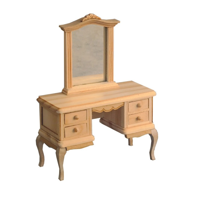 Bare Essentials French-Style Dressing Table