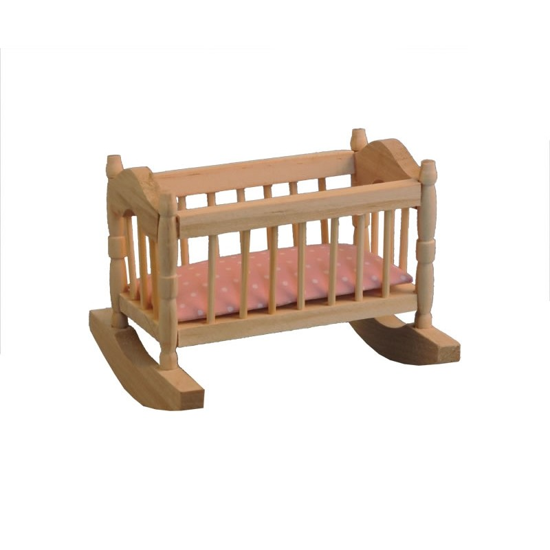 Bare Essentials Cradle & Pink Mattress