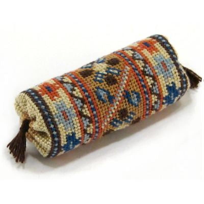 Tabriz Dolls' House Needlepoint Bolster Cushion Kit
