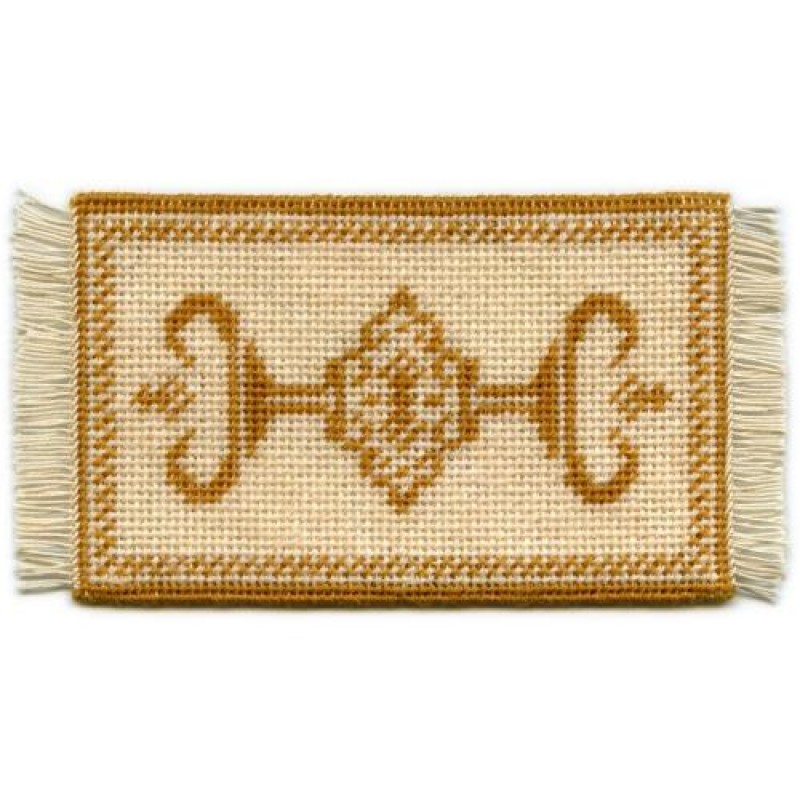 Alison (gold) Dolls' House Needlepoint Small Carpet Kit