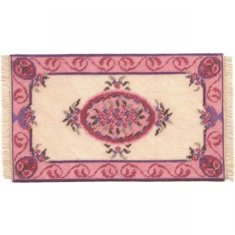 Lilian (pink) Dolls' House Needlepoint Large Carpet Kit