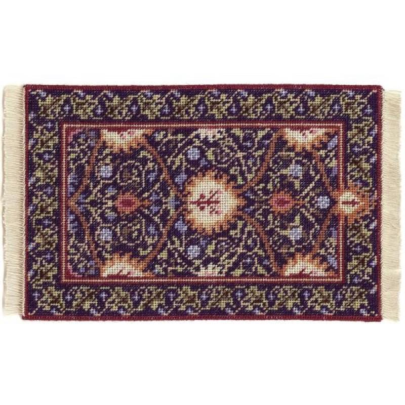 May (blue)  Dolls' House Needlepoint Large Carpet Kit