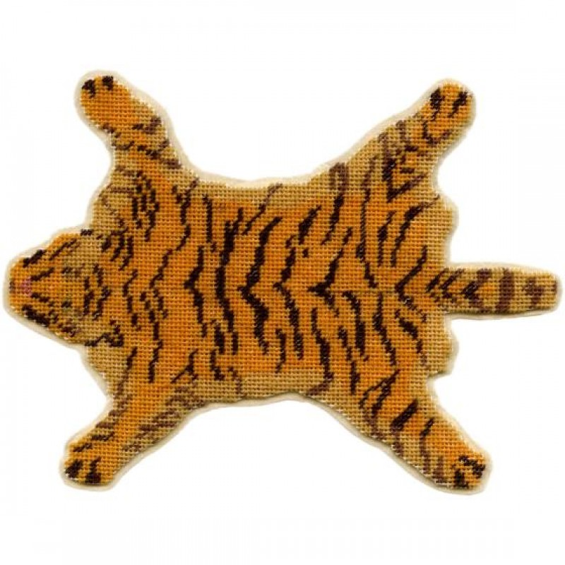 Tiger-skin Dolls' House Needlepoint Medium Carpet Kit