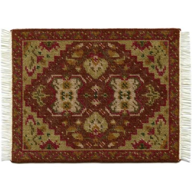 Yvonne (olive) Dolls' House Needlepoint Medium Carpet Kit