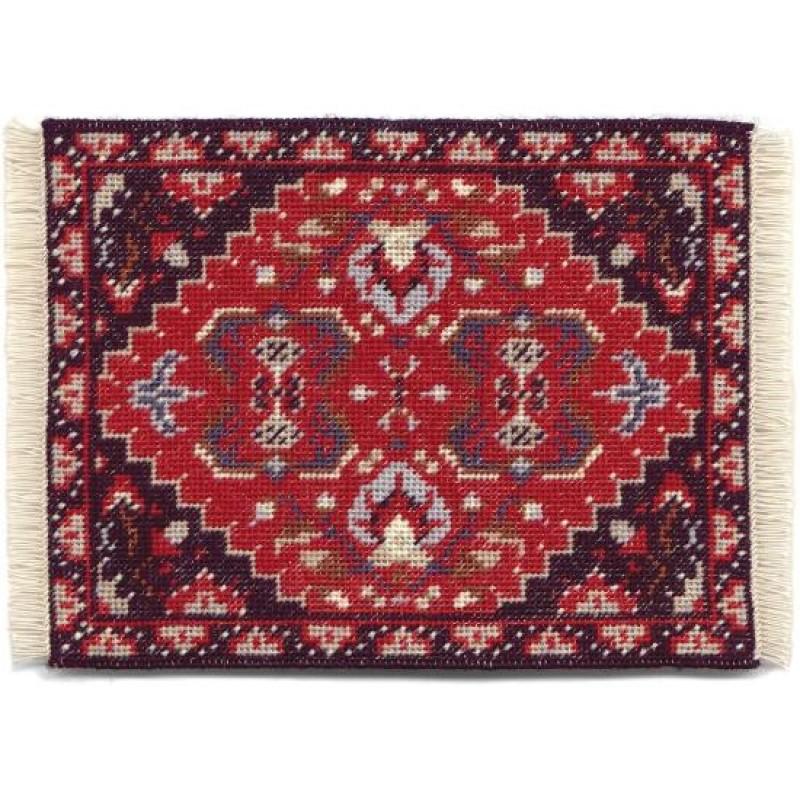 Yvonne (red) Dolls' House Needlepoint Medium Carpet Kit