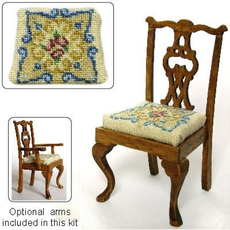 Judith Dolls' House Needlepoint Dining Chair Kit