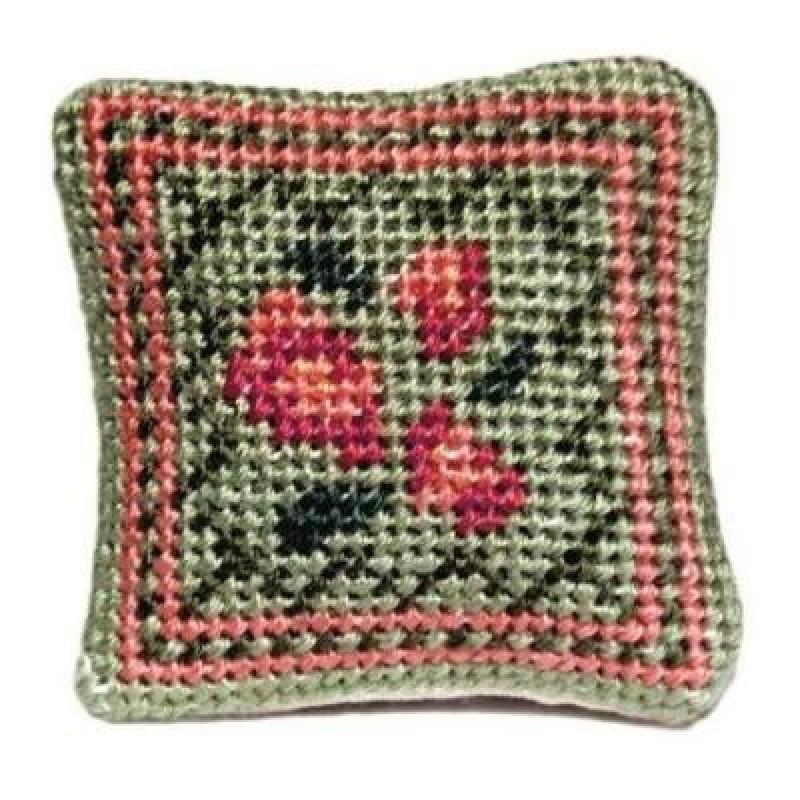 Barbara (green) Dolls' House Needlepoint Cushion Kit