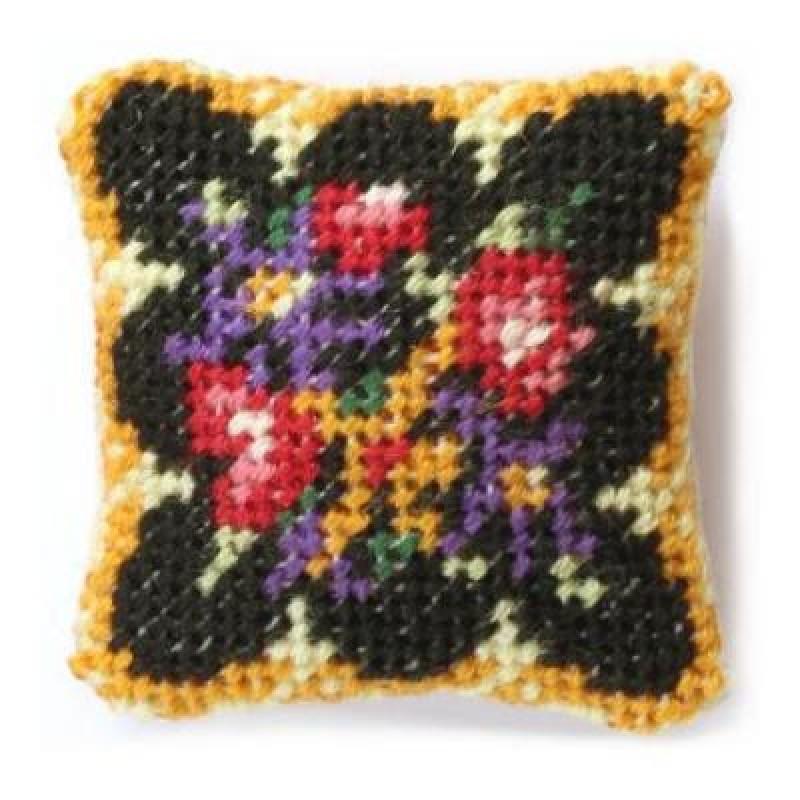Berlin Woolwork Dolls' House Needlepoint Cushion Kit