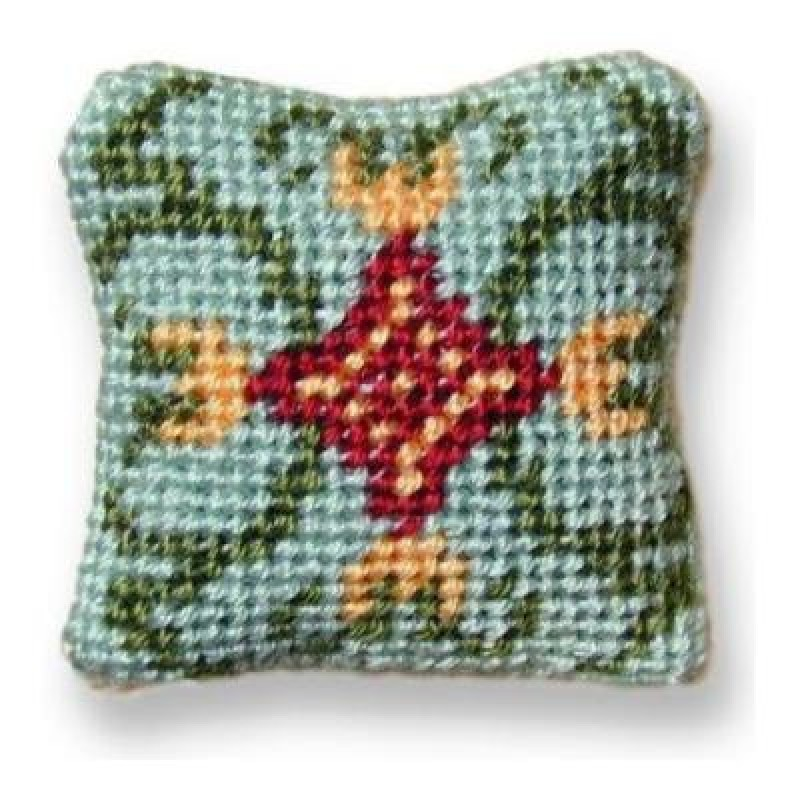 Carole (jade) Dolls' House Needlepoint Cushion Kit