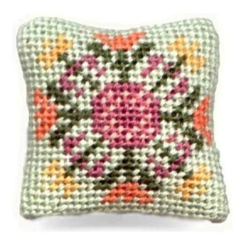 Elizabeth Dolls' House Needlepoint Cushion Kit