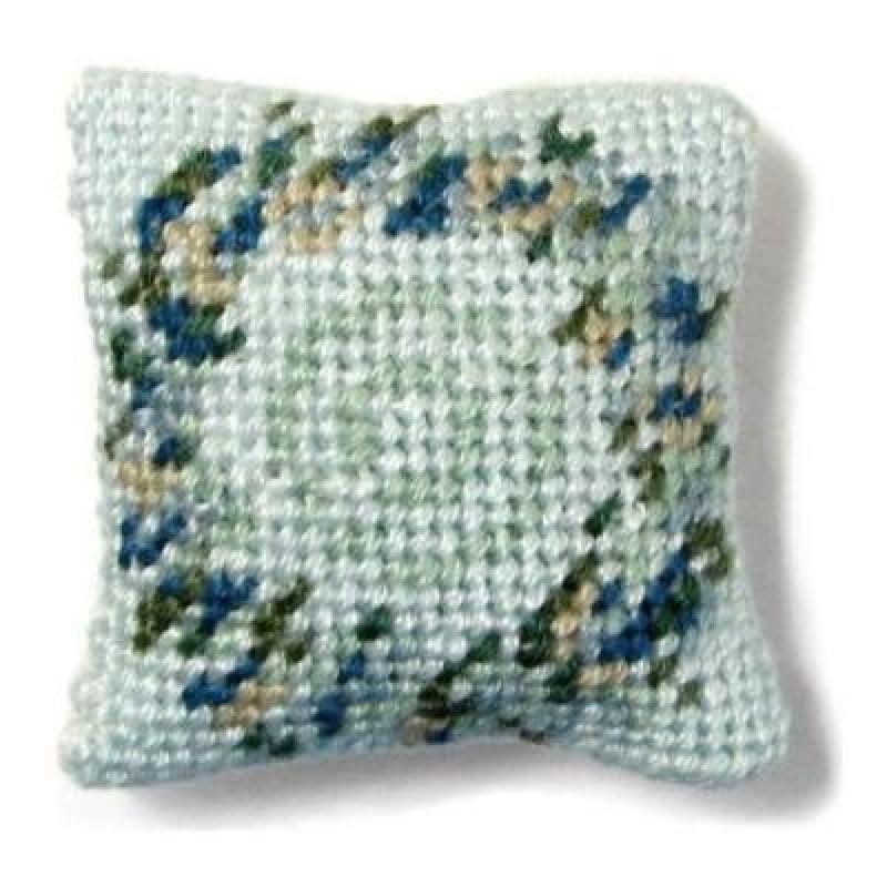 Kate (blue) Dolls' House Needlepoint Cushion Kit