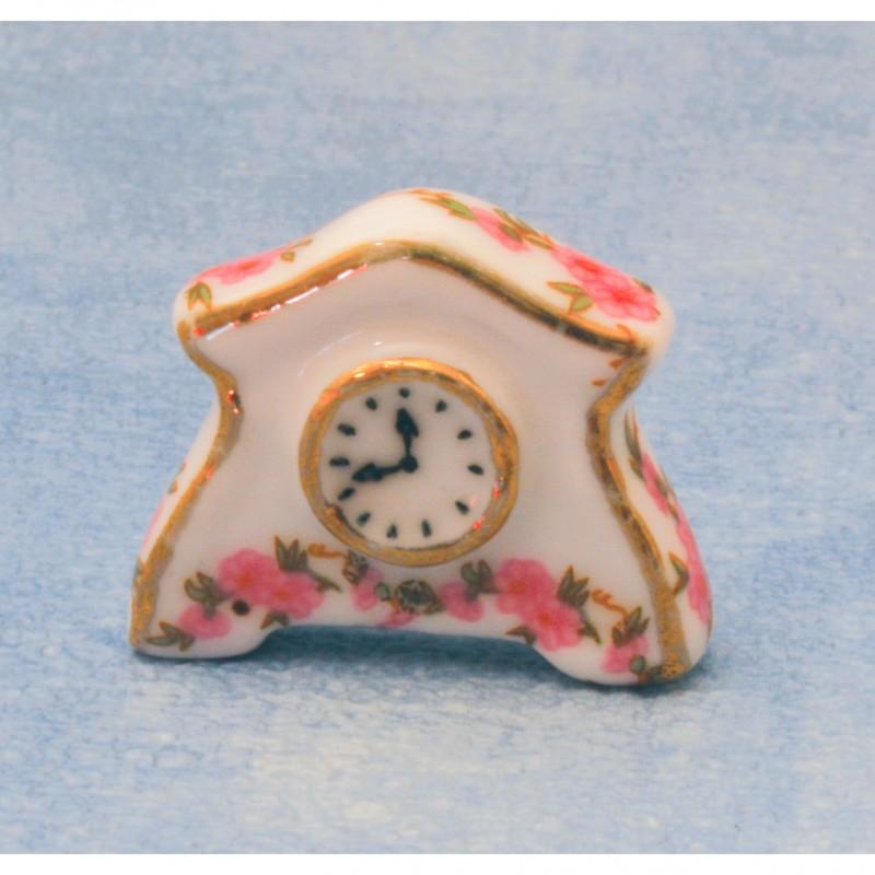 Ceramic Rose Clock
