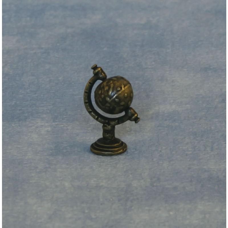 Antique Brass Globe