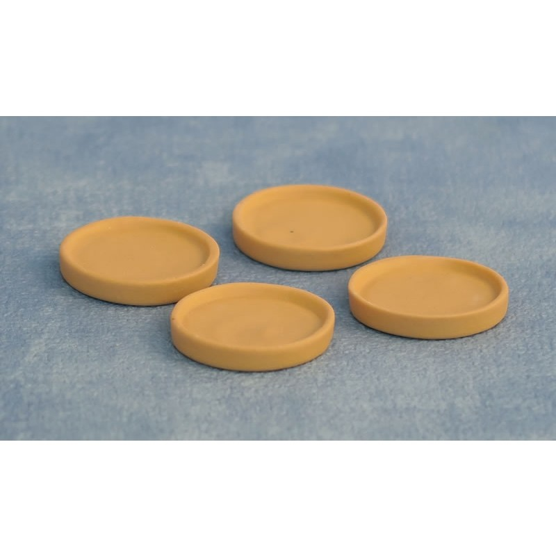 30mm Terracotta Dishes pk 4