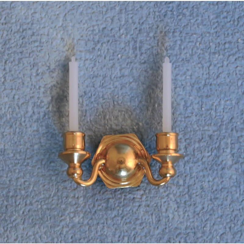 Brass Double Candle Holder