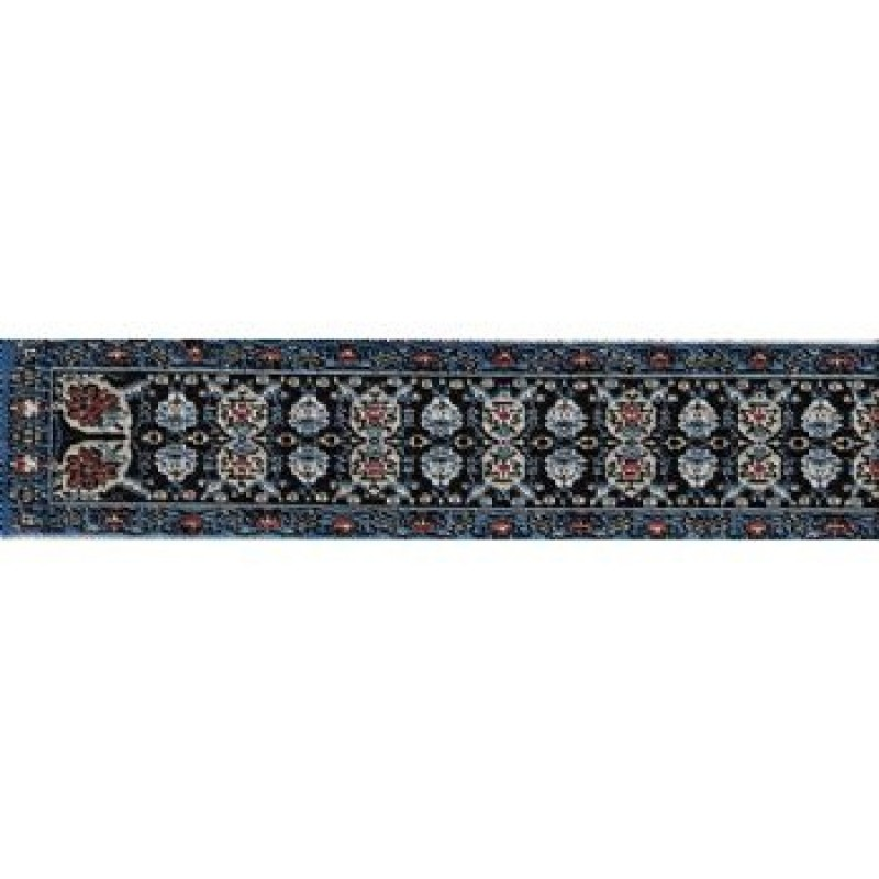 Turkish Stair Carpet Blue