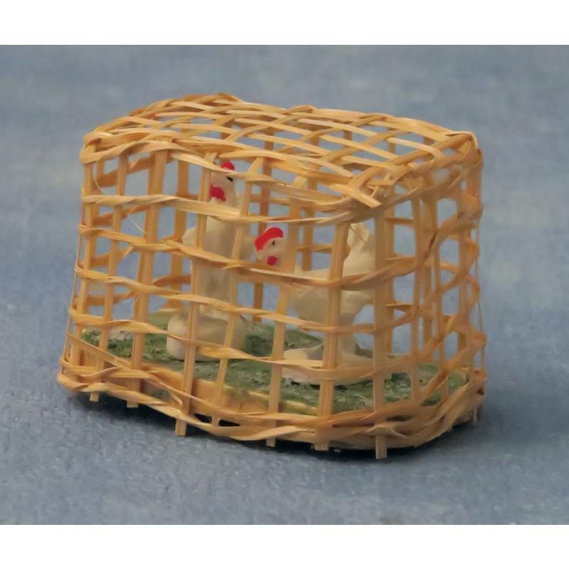 Babettes Miniaturen Chicken Coop
