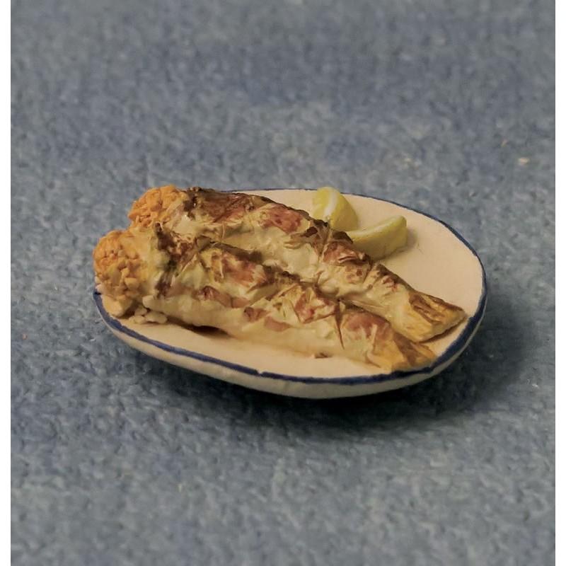 Babettes Miniaturen Fried Fish