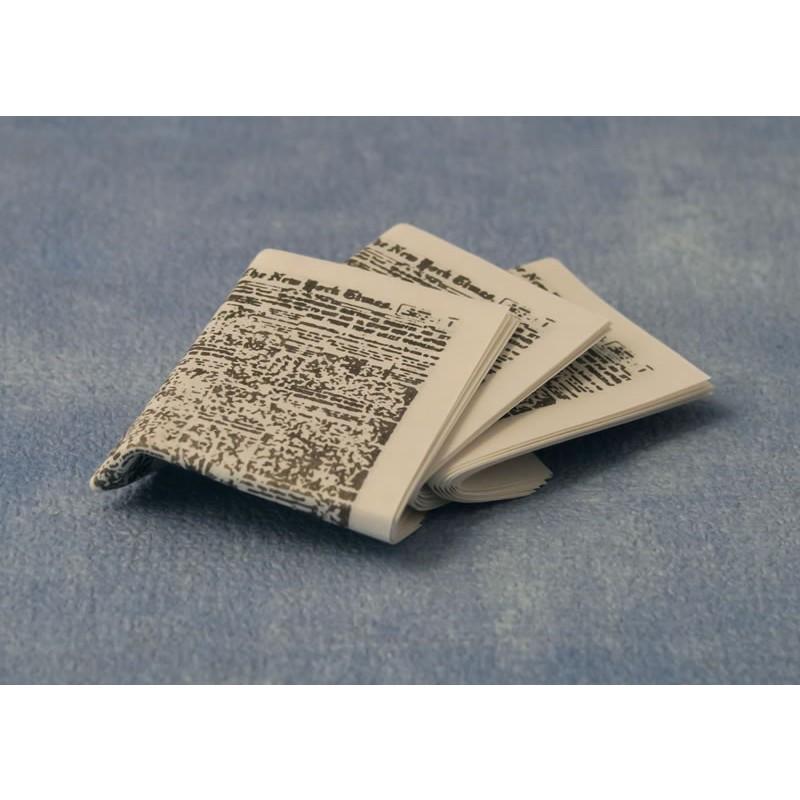 Babettes Miniaturen Newspaper Set