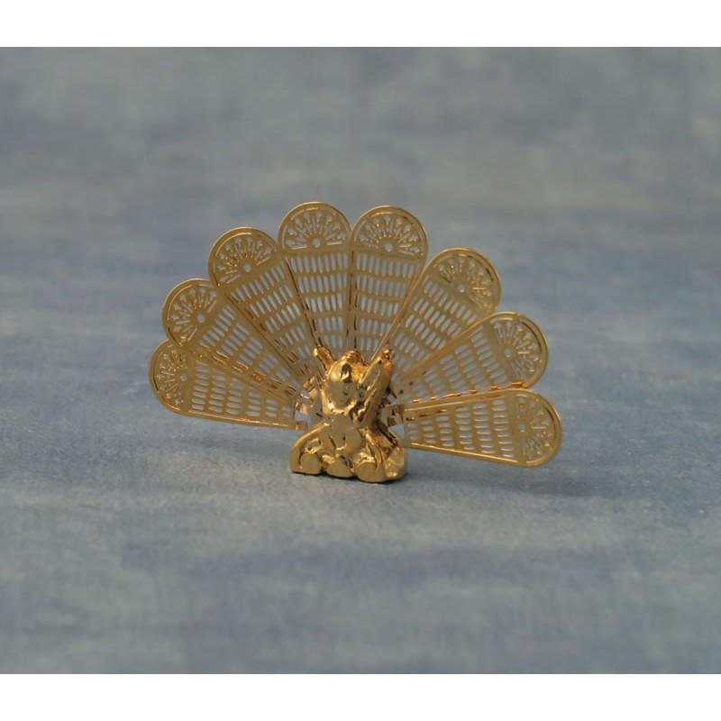 Babettes Miniaturen Peacock Fire Guard