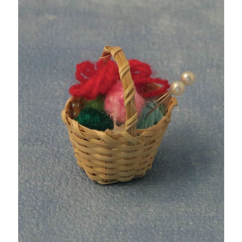 Babettes Miniaturen Knitting Basket