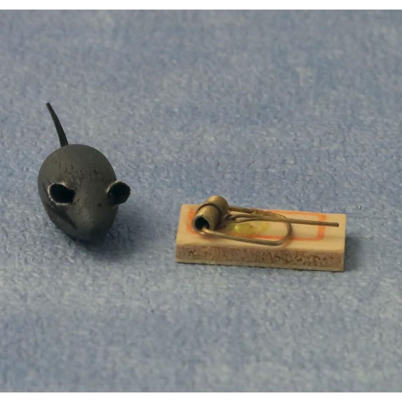 Babettes Miniaturen Mouse and Mouse trap