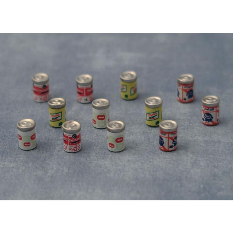 Babettes Miniaturen Drink Cans 12 pcs