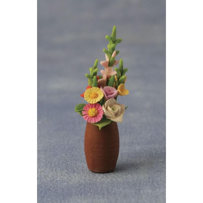 Babettes Miniaturen Flowers in Pot